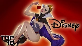 Top 10 Sexiest Disney Moments