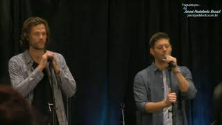 Jared e Jensen - Melhor coisa sobre suas amizades (Chicon 2017)