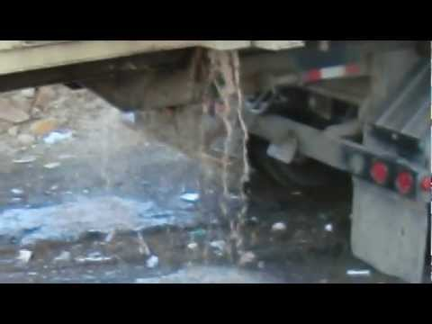Compactor Roll-Off Box Santa Cruz Landfill 2/12/13