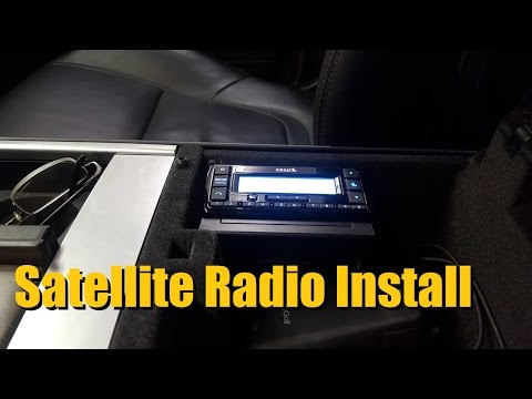 Satellite Radio Installation (SiriusXM Radio)