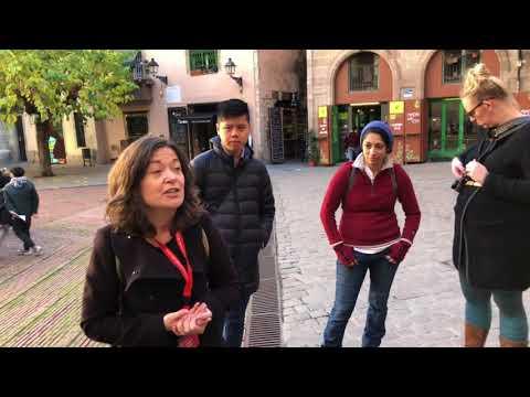 Barcelona Walking Tour - End and Goodbye!