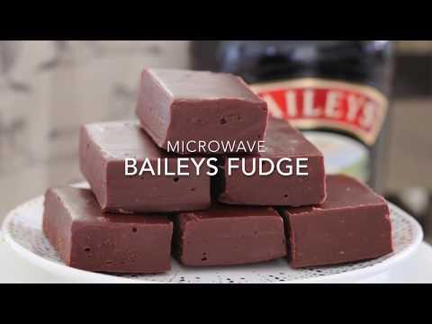 Microwave Baileys Chocolate Fudge