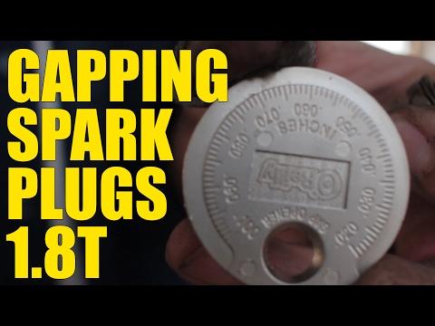 Setting Spark Plug Gaps (Audi 1.8t)