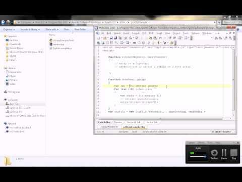 JavaScript UnZip File