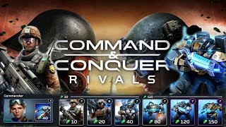 Cheap Infantry To Strong Tech Lab Deck! Command And Conquer Rivals