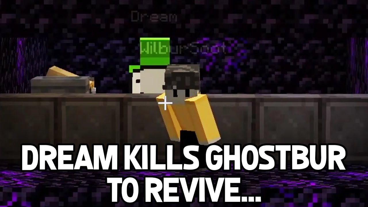 TommyInnit breaks into Prison but Dream kills Ghostbur to REVIVE WILBUR SOOT on Dream SMP