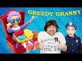 Sketchy Mechanic Steals Greedy Grannys Teeth Silly Funny Kids Video With Dad