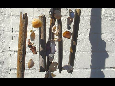 How to make a seashell windchime