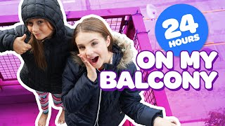 Download FUNNY 24 HOUR CHALLENGE OVERNIGHT ON BALCONY **Harry Potter** ⏰🌙 | Piper Rockelle Video