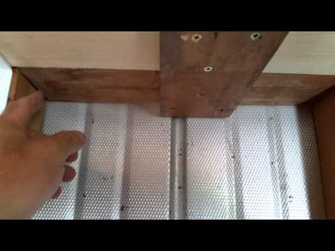 Building Utility Shelves in a Shed