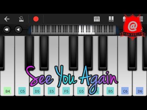Note Keyboard See You Again Note Keyboard