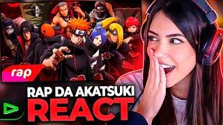 RAP DA  AKATSUKI (Naruto) - OS NINJAS MAIS PROCURADOS DO MUNDO | REACT | 7 Minutoz - NERD HITS