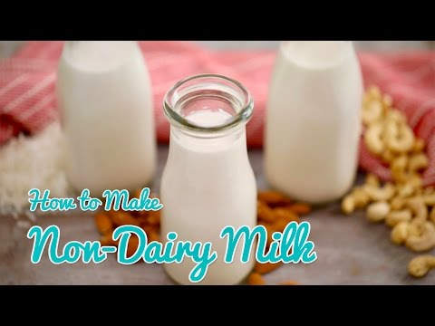 How to Make NON-DAIRY MILK (Almond, Cashew & Coconut) Gemma's Bold Baking Bootcamp Ep 4