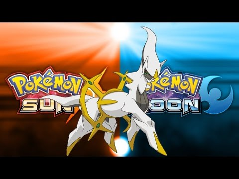 HOW TO GET ARCEUS IN POKEMON SUN AND MOON!!