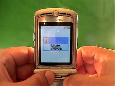 How To Unlock A Fido Motorola RAZR2 V9
