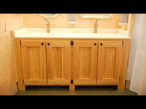 How To Build A Bathroom Vanity | Woodworking DIY