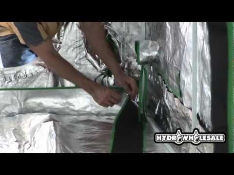 Large Grow Tent Greenhouse Setup