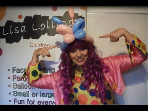 #11 Lisa Lollipop two Balloon Butterfly Headband!