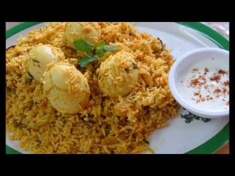 Delicious Egg Biryani Recipe