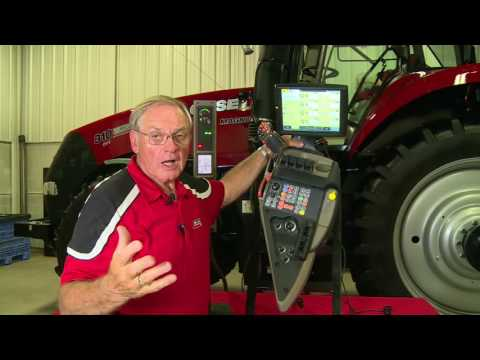 Case IH Tractors: Armrest Remote Valves