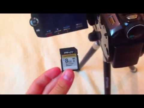 How to Initialize Your SD CARD (Camcorder)