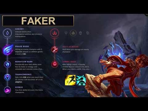 SKT Faker Build Taliyah - New Runes Season 8 solo vs Twisted Fate (League of Legends Guide)