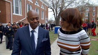 """Dave Chappelle at Allen University: """"With great power comes great responsibility"""""""