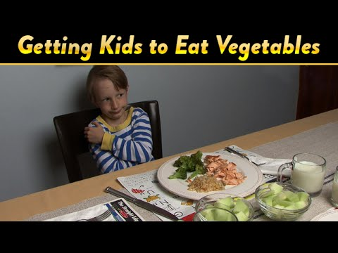 Getting Kids to Eat Vegetables | CloudMom