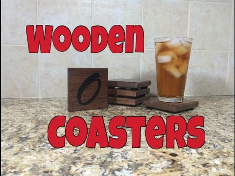 Awesome WOODEN Coasters