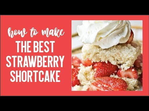 How to Make Strawberry Shortcake {and Macerated Strawberries}
