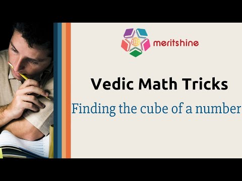 Finding the cube of a number - Vedic Maths tricks