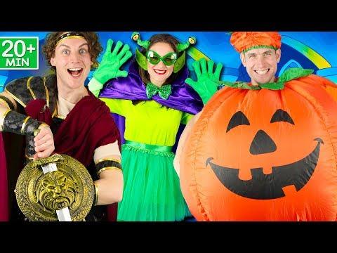 Halloween Songs for Children - Halloween Rules, Let's Get Spooky, Halloween Stomp, Skeleton Dance