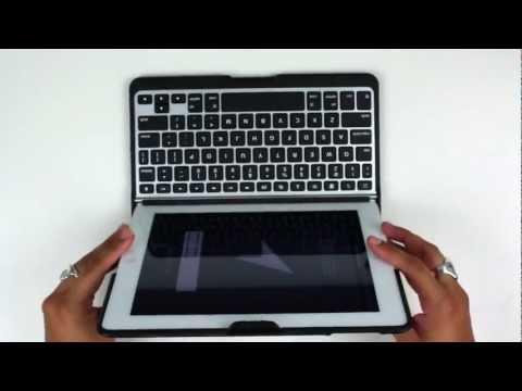 ZAGG iPad 2 ZAGGfolio with Bluetooth Keyboard Video Review