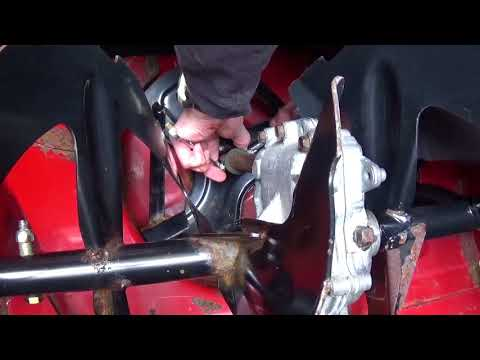 DIY - How to replace snowblower impeller (auger) Shear Bolts (pins)