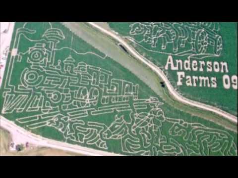 MazePlay Corn Maze Air Photos