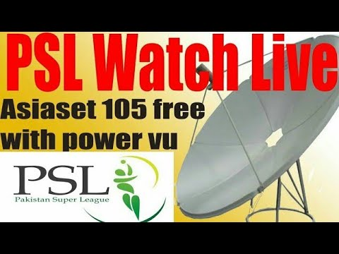 How to watch PSL Dish TV On Asiaset 105° dish TV setting(Thinking 4 you)
