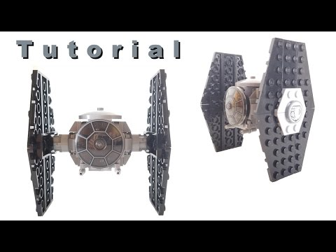 Mini Lego Star Wars Tie Fighter Tutorial (Subscribers' Requests)
