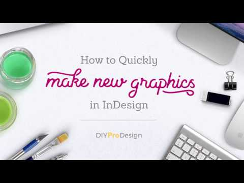 How to Create a Template with InDesign