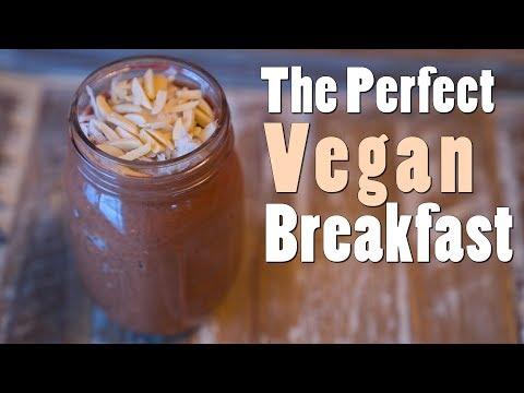 Overnight Vegan Almond Joy Oats
