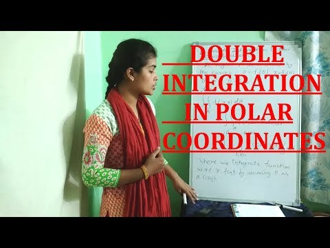 DOUBLE INTEGRATION IN POLAR COORDINATES
