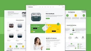 Responsive Ecommerce Website Using HTML CSS JAVASCRIPT (How To Make An e-commerce Website)