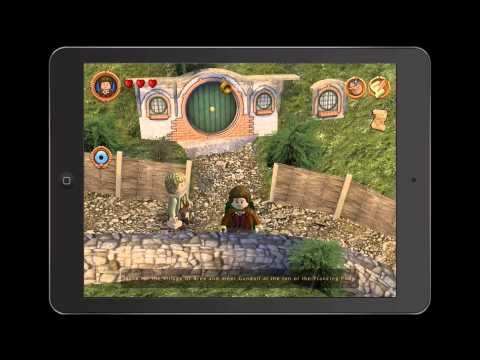 iPad LEGO The Lord of the Rings Overview