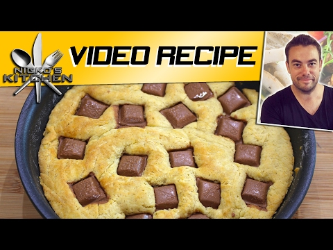 Skillet Chocolate Chip Cookie Cake