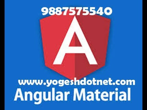 angular material installation | angular 5 tutorial | hindi