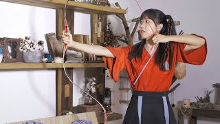 How to build Chinese Ancient Recurve Bow and Arrow?   The Way of Archery in China