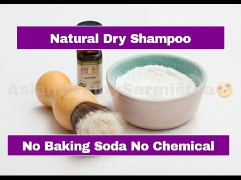 Homemade DRY Shampoo (NO Baking Soda & Chemical )| How To Make Dry Shampoo At Home
