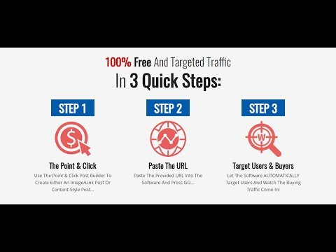 How To Get Free Traffic To Your Affiliate Link 2017