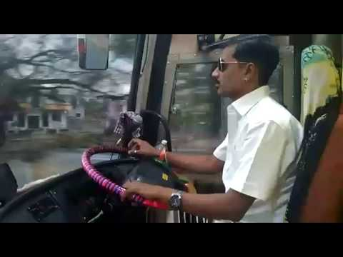CAPTAIN SUJIT PATOLE driving VRL VOLVO B9R from PUNE TO NAGPUR