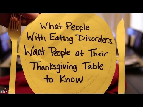What People With Eating Disorders Want People at Their Thanksgiving Table to Know
