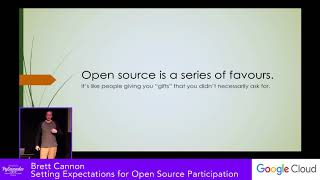 Brett Cannon: Setting Expectations For Open Source Participation